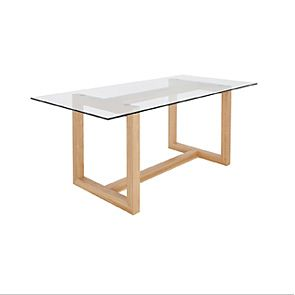 Oak dining table