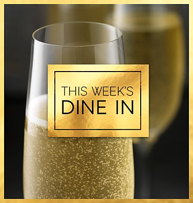 Dine in with champagne for Sparks members
