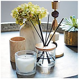 Candle and reed diffuser