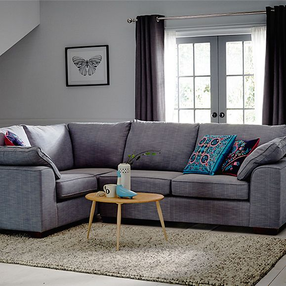Nantucket modular sofa and decorative cushion