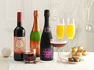 A selection of classic Christmas cocktails