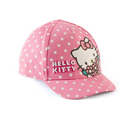 Pink girls' hat