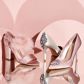 Wedding shoes fit for a princess