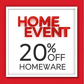 20% off home event