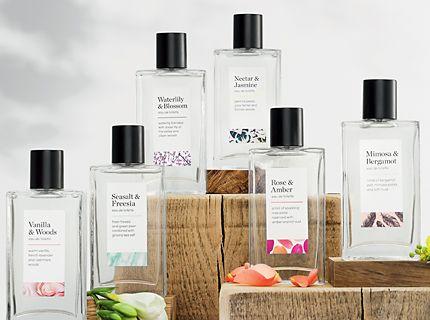 The Fragrance Collection eau de toilettes