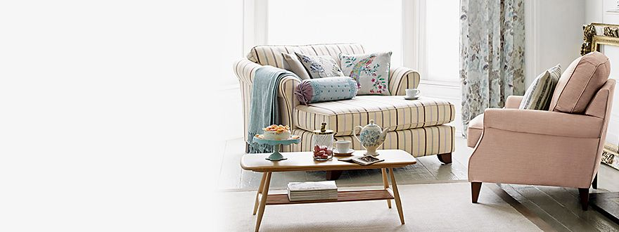 Sofas, armchairs and a coffee table