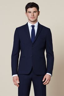 Modern slim fit mens suit