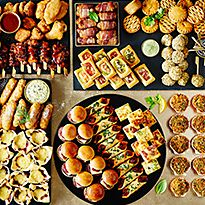 M&S party food selection