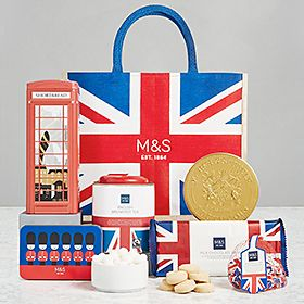 Taste of Britain gift bag