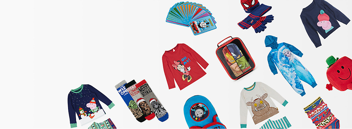 M&S kids' character shop