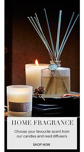 Reed diffusers and scented candles from the M&S home fragrance range