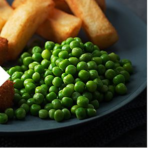 Plate of peas