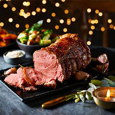 Collection Perfect Roast sirloin of British beef