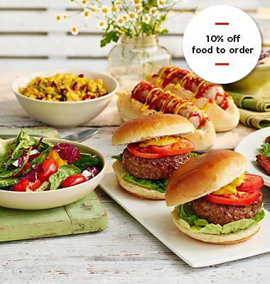 10% off food to order