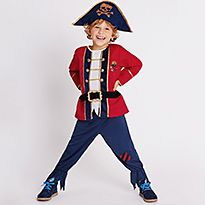 Fancy dress pirate costume