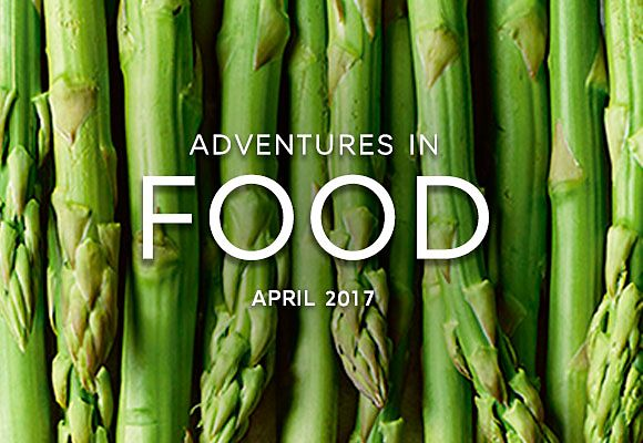 Celebrate the best seasonal ingredients for April