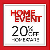 20 per cent off homeware