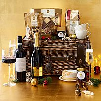 Panettone and prosecco hamper