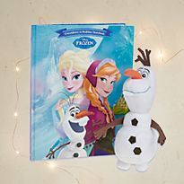 Frozen book and toy