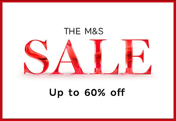 The sale continues with up to 60% off