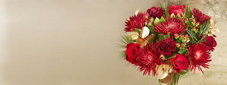 Shop our new Christmas flowers