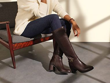 Pair of long boots
