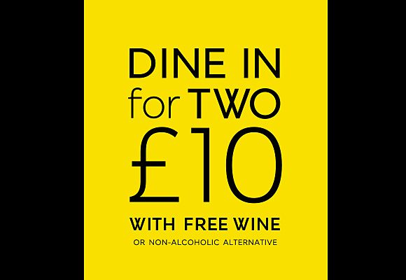 Dine In for two £10