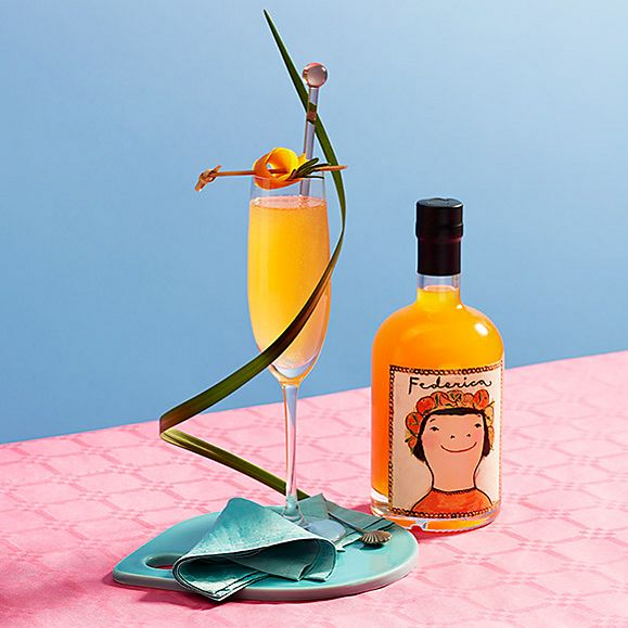 Federica Arancello liqueur with cocktail