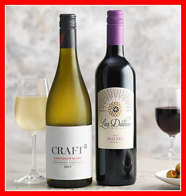 Buy two cases, save 25% on wine