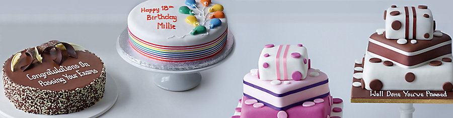 Personalised Birthday Cakes Tesco