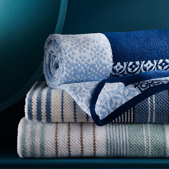 Cotton modal towels