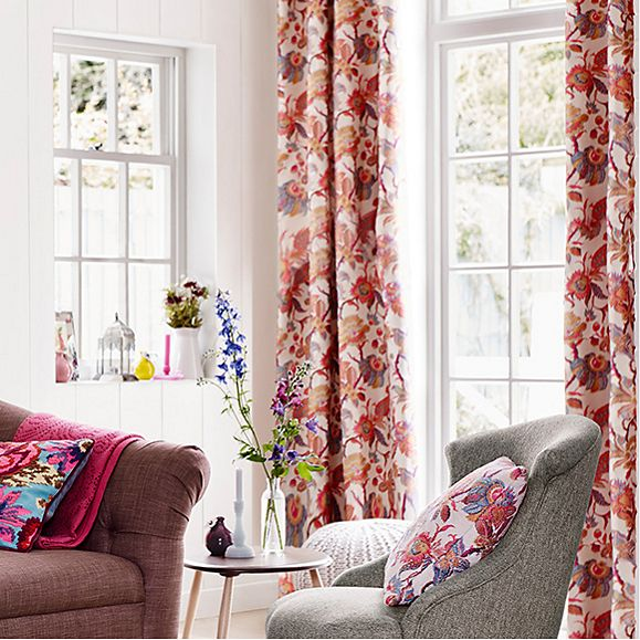 Fabric options for made-to-measure curtains