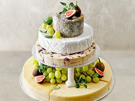 Wedding Cakes Buy Fresh Romantic Elegant Cake MS