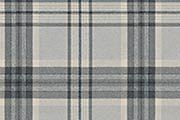 Brandon Check, grey†‡ 100% polyester