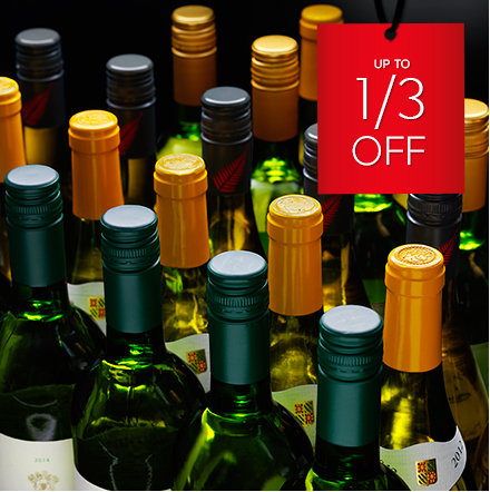 Wine Clearance – Up to a 1/3 off