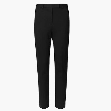 The everywear slim black trouser