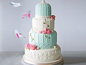 Shop contemporary wedding cakes