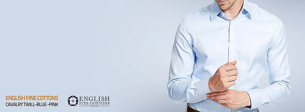 Start designing your made-to-measure shirt