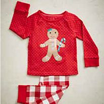 Gingerbread man PJs