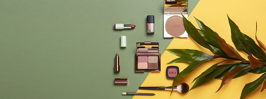 Beauty products from Stila, Pur, Lola and Pixi