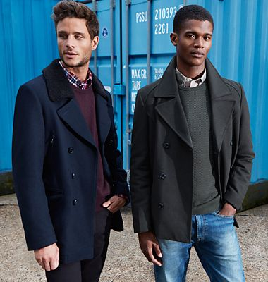 Men's coats for winter