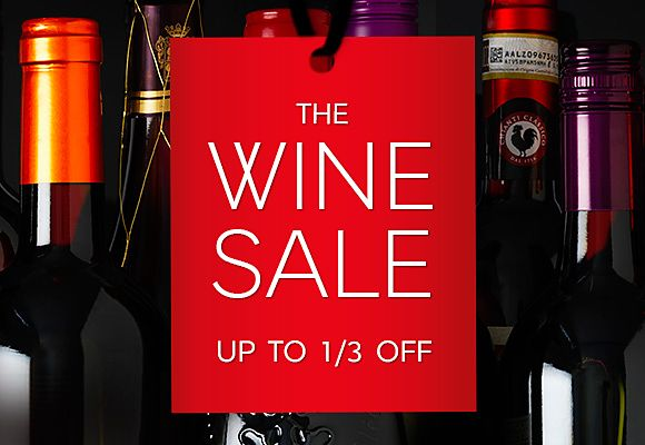 The wine sale continues...