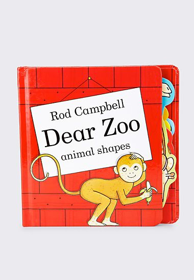 Dear Zoo animal shape book