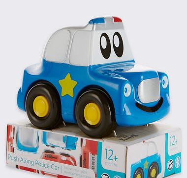 Police car plastic toy