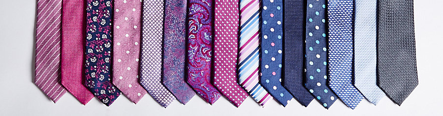 A selection of M&S men's ties