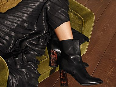 Pair of ankle boots