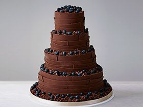 Shop chocolate wedding cakes