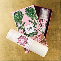 Ren Moroccan Bath and Body gift set