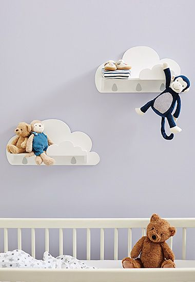 Nursery wth baby toys and cot