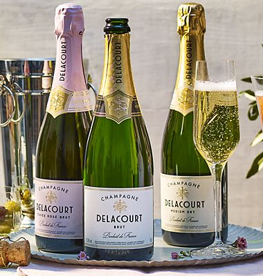 £30 off cases of Delacourt Champagne